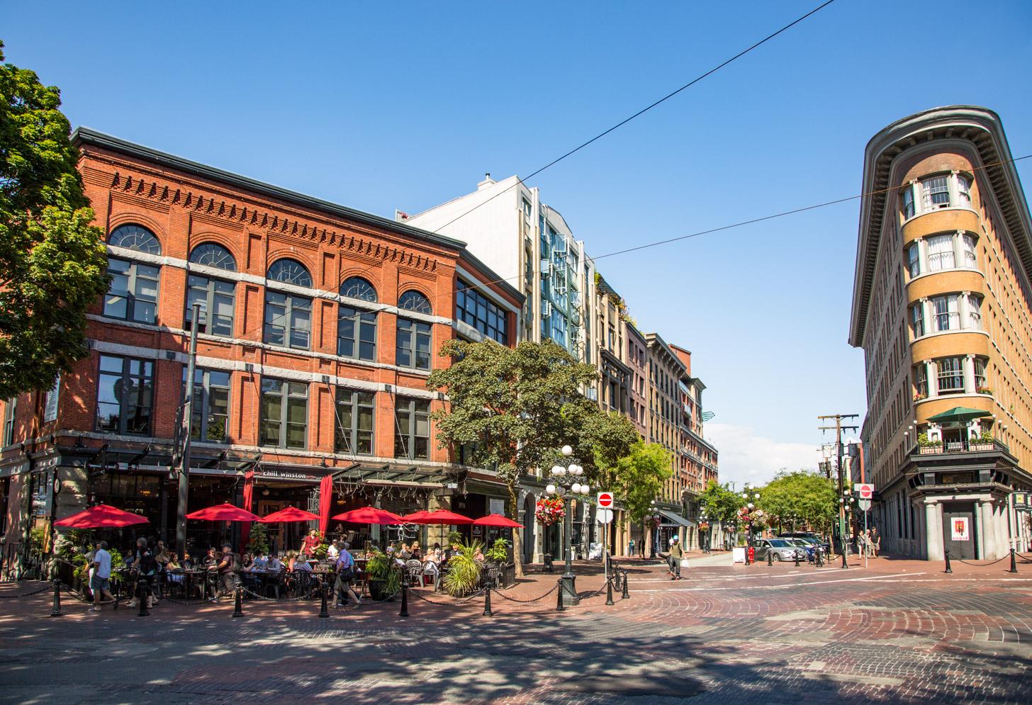 Gastown; de leukste buurt van Vancouver