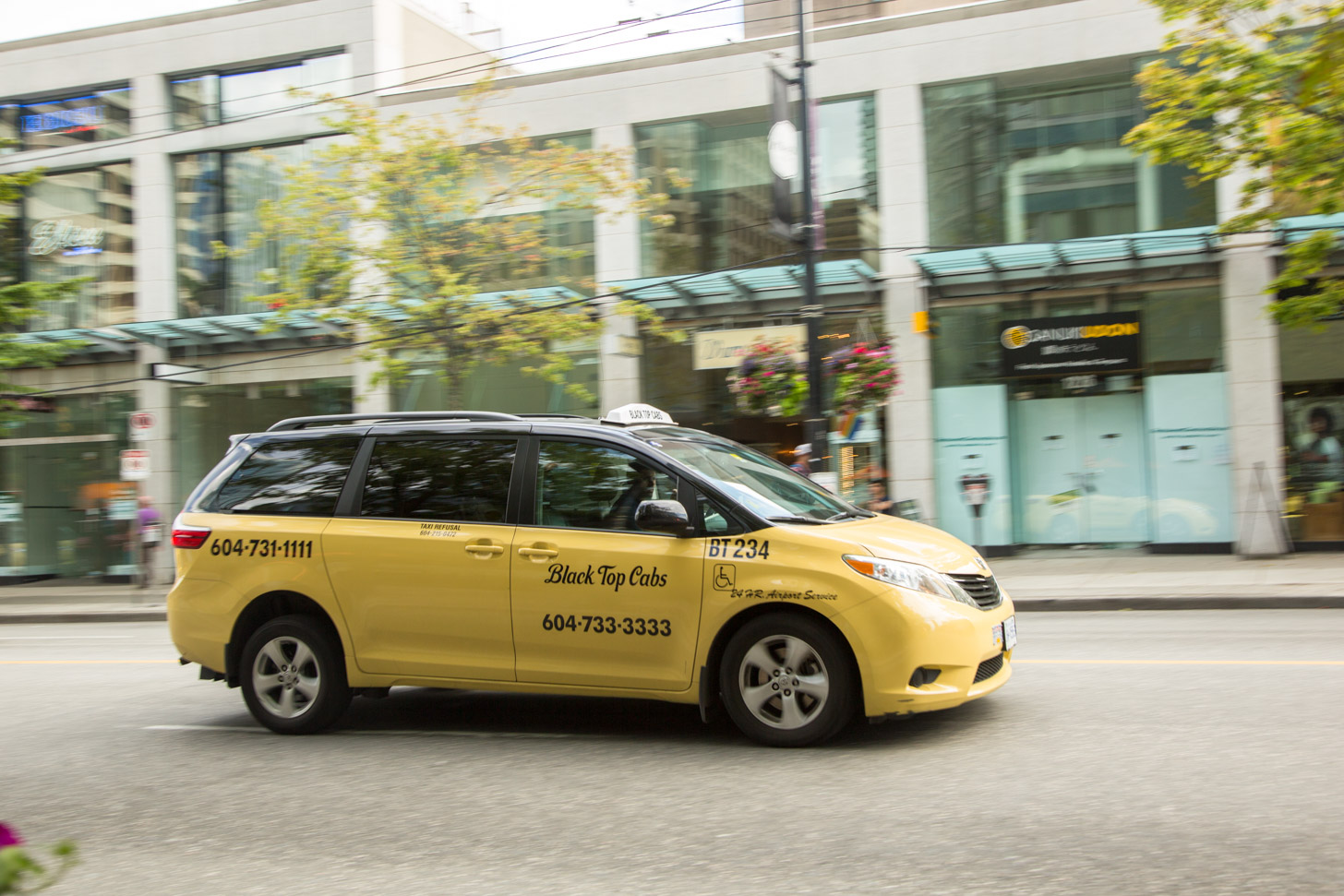 Taxi in Vancouver