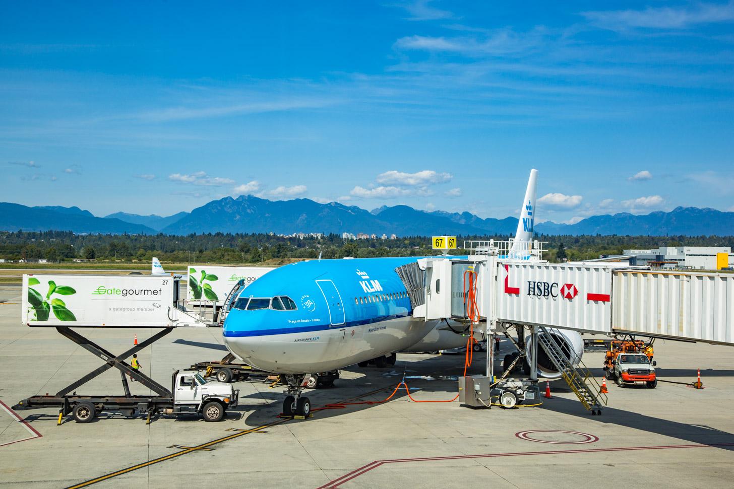 Met KLM kun je rechtstreeks naar Vancouver vliegen